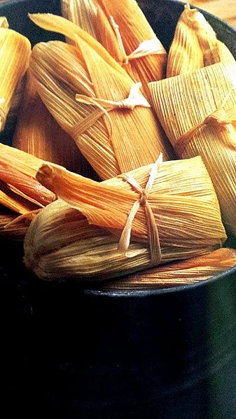 pot with tamales