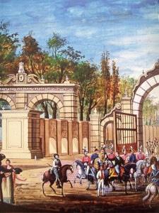 Entrada del Ejercito Trigarante en la CD. de México