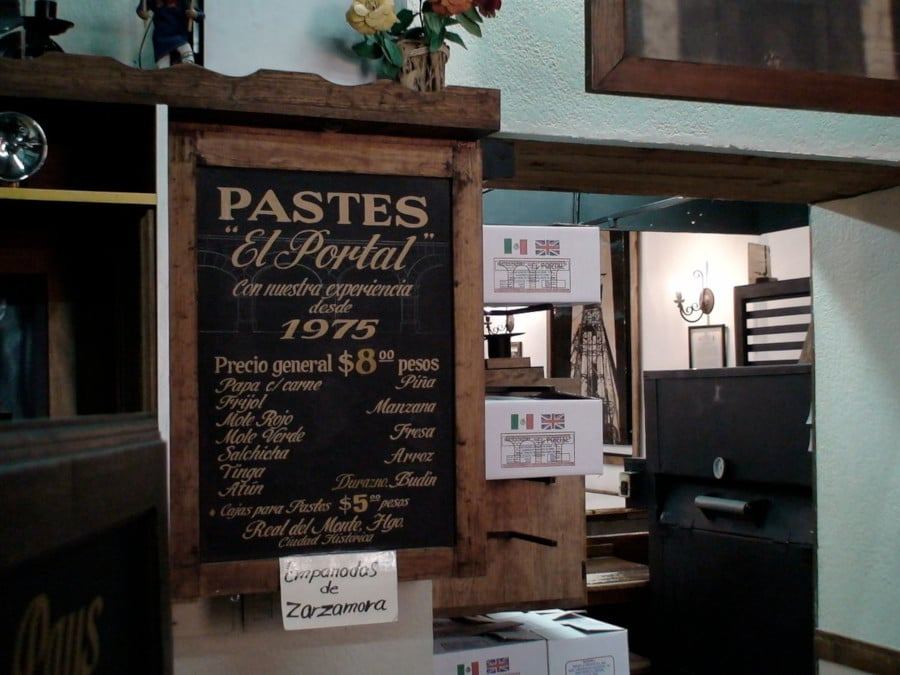 Pastes, an English Legacy in Real del Monte