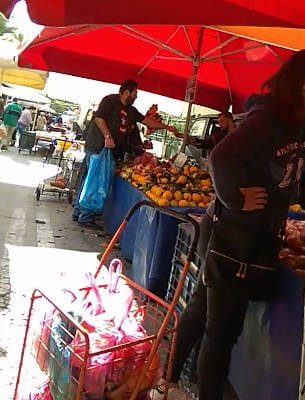 Tuesday's tianguis