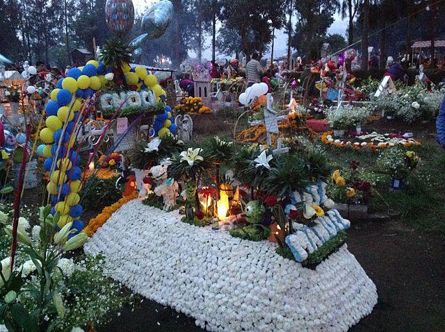 Boy's grave
