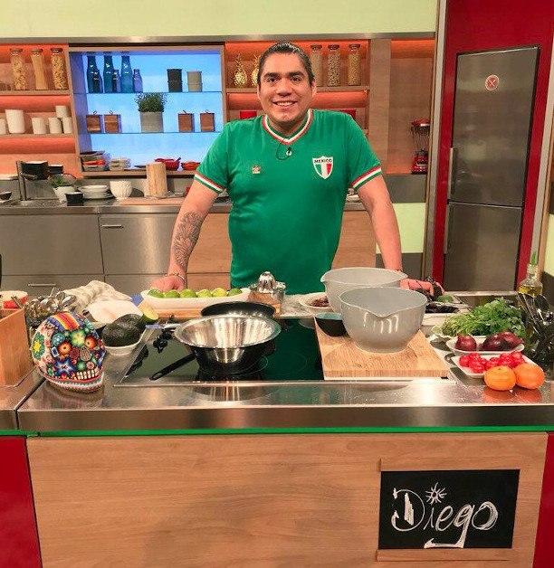"""Diego en """"Die Küchenschlat"""""""